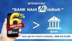 Bank nahi Mobikwik - Join the 6% Profit Club!