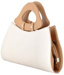Butterflies White & Beige Clutch MRP 1699 @ Rs.431 + Free shipping