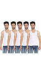 [Paytm] Pine White Cotton Pack Of 5 Vest @ 149+29 shipping