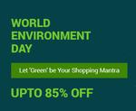 Upto 85% OFF on World Environment Day [Fashion Lifestyle]