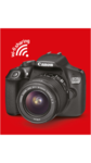 Canon EOS 1300D (EF S18-55 IS II/55-250 mm) 18 MP DSLR Camera @30375  || see pc
