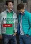 Flat 20% off on USPA apparels @ SHOPPERS STOP