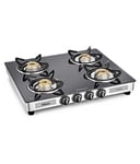 Buy Sunflame Diamond SS GT 4 Burner Gas Stove Toughened Glass Top For Rs.3963