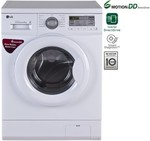 LG 6 kg Fully Automatic Front Load Washing Machine(FH0B8NDL2)- Rs  24722  [ 20 %  off   ] @ flipkart