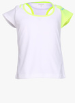 Flat 60% Off, Reebok Layered White Casual Top for Rs. 520 - Jabong.com