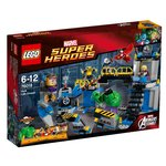 LEGO Super Heroes Set #76018 Avengers Assemble: Hulk Lab Smash@2280
