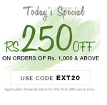 Pepperfry:- Get Rs.250 off on order of Rs.1000 & above