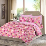 Loot..Bombay Dyeing Polycotton Bedsheet (1 Single Bedsheet, 1 Pillow Cover@199