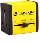 Flat 50% Off on Lapcare Worldwide Adapter with Dual USB Port Worldwide Adaptor@695 MRP 1399
