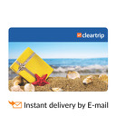 Clear trip email gift card at 10% discount on snapdeal