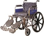 Vissco Invalid Elevated Footrest Wheel Chair with Mag Wheels - Universal (Delux) for Rs.7528 in Amazon