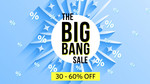 The big bang sale : Minimum 30% off on apparels @ Myntra