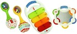 Fisher-Price Musical 3 Pack Combo Gift Pack - White @ Rs.1061