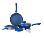 [nice deal] Wonderchef Royal Velvet Blue Set Of 4 Pcs @1099 || see pc||  mrp- 4550