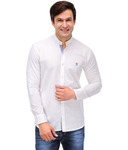 Nexq White Linen Solid Casual Shirt for Rs. 649 @ Snapdeal