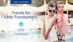 Paytm: Kid's Clothing | Get 50% Cashback