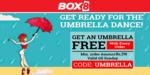 (Account specicific)BOX8 Get Umbrella free with orders