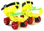 Dry Skates Power Quad Roller Skates - Size 4-7 UK(Yellow, Green, Orange) for Rs. 449 @ Flipkart