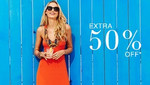 Extra 50% off on men & women apparels & accessories @Elitify