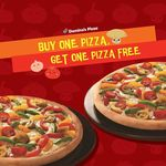 Your favourite offer starts at 11am tomorrow - Buy One Pizza, Get One Free!@Dominos