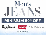Min. 50% Off on Branded Men's Jeans From Amazon