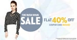 The Rush Hour Sale – FLAT 40% OFF on all products @Faballey