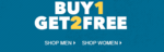 Buy 1 Get 2 Free + 10% Cashback on Women's Clothing, Footwear & Accessories