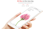 Mi Max [3GB + 32GB] & Mi Max [4GB + 128GB] Sale starts at 2 PM on 6th July