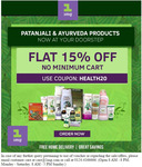 15% off on Patanjali Products