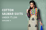 Cotton Salwar Suits under Rs.1299 || Anarkalis under Rs.1499 || Straight Suits under Rs.1699