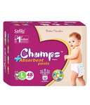 Champs High Absorbent Pants Large (48 Pieces)