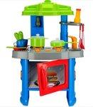 Sunshine BIG SIZE Kitchen Set Multi Skill Learning Toy for Kids - Vibrant Color, Non-Toxic Plastic