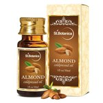 St.Botanica Sweet Almond Pure Coldpressed Carrier Oil, 30ml