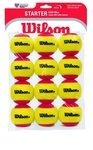 WILSON Starter Red Balls 12 pack