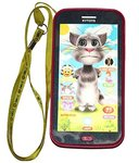 Catterpillar Talking Tom Musical Mobile Phone with Ultra Clear Recording & Projector