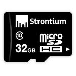 Strontium 32GB MicroSDHC Memory Card (Class 10)