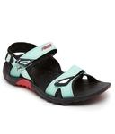 Puma Vesta Sdl Turquoise Black Floater Sandal