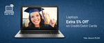 Get Extra 5% Off on Laptops With All Debit And Credit Cards