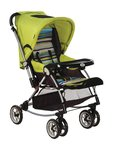 Mee Mee Fully Canopied Pram Cum Rocker (Green)
