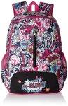 Barbie Nylon 48 cms Pink and Black Children's Backpack
