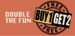 Jabong: Double the Fun | Buy 1 Get 2 Free