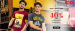 Mens T-Shirts Combo - Flat 40% off starting Rs.357|| Womens Dresses Flat 30% off || Flat 30% off on Mens Shirts & much more
