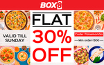 Get flat 30% off on minimum order of Rs.300