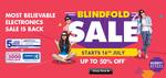 Blind Fold Sale - Extra 5% Cashback on ICICI Cards + Upto 3000 Bonus Payback Points