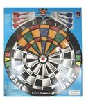 Adraxx Plastic Round Matrix Dart Board With Plastic Darts