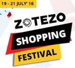 Upto 80% Off + 10% ZoCash on Delivered Orders+ Additional 100/- off on purchase of 999/- & above