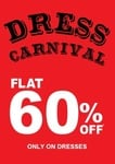 Kazo Dress Carnival - Flat 60% off products