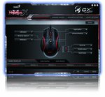 Genius GX-Gaming Mouse for FPS Gaming with DPS Range 800 to 4000 and Built-In Metal Weight
