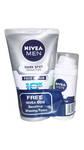 Nivea Men Dark Spot Reduction Scrub 100g + Nivea soft 20 ml Free