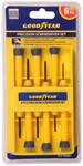 Goodyear Precision Standard Screwdriver Set(Pack of 6) + Free Shipping for FF Users